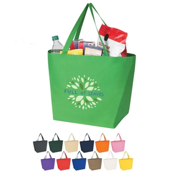 Logo custom non woven bag for shopping