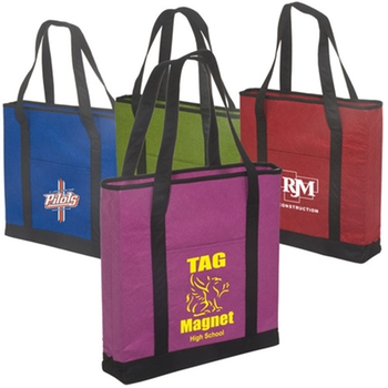 Custom shopping bag with non woven bag
