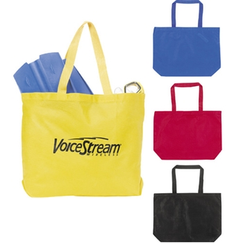 Jumbo Non-Woven Custom Shopping Tote