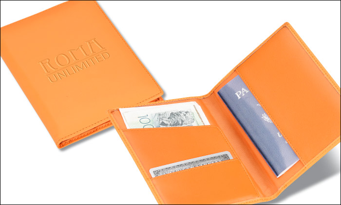 2013 Promotion Leather Passport Wallet