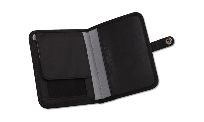 RFID TravelSmart Passport Wallet
