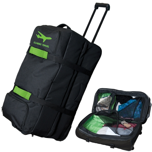 Extra Large Custom Rolling Duffel Bag