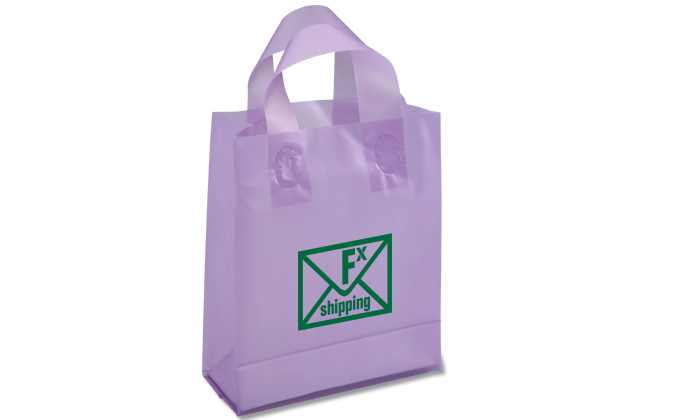 2013 Promotions Soft-Loop Frosted Shopper