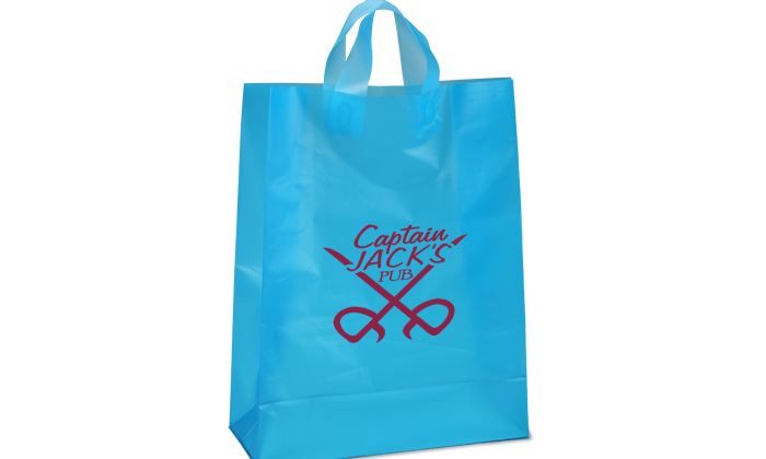 New York promotion Soft-Loop Custom Frosted Shopper