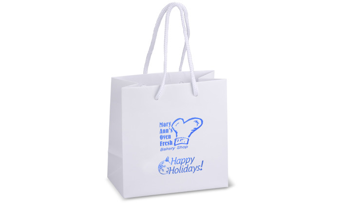 Holiday Matte Logo bags