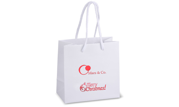 Holiday Gifts Bags with Logo Printed
