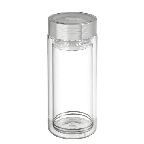 16oz.sports Glass Bottle with Tea Drainer