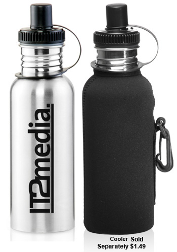 American style Stainless steel sprots bottles custom