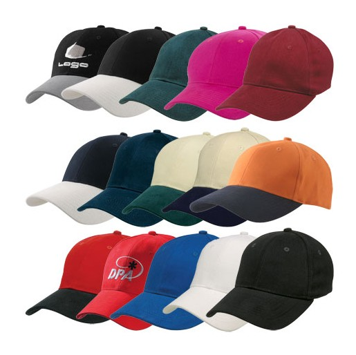 Personalized 6 panel cotton structured cap