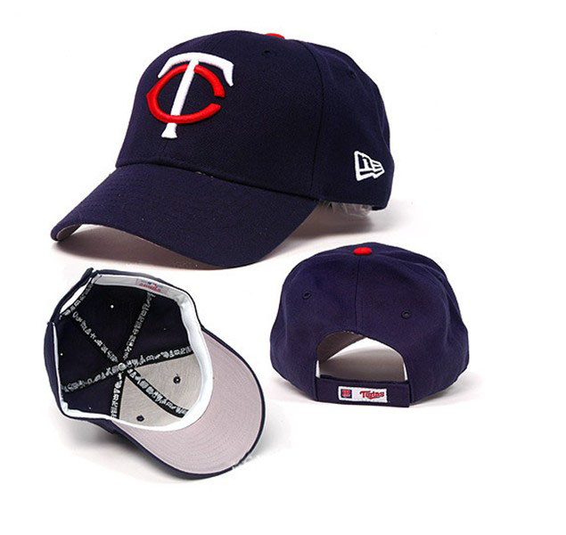 MLB 6 panel structured cotton cap