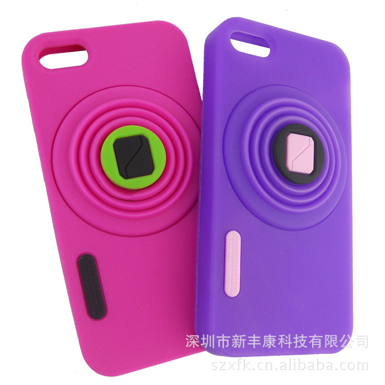 Camera shaped iPhone 4 case