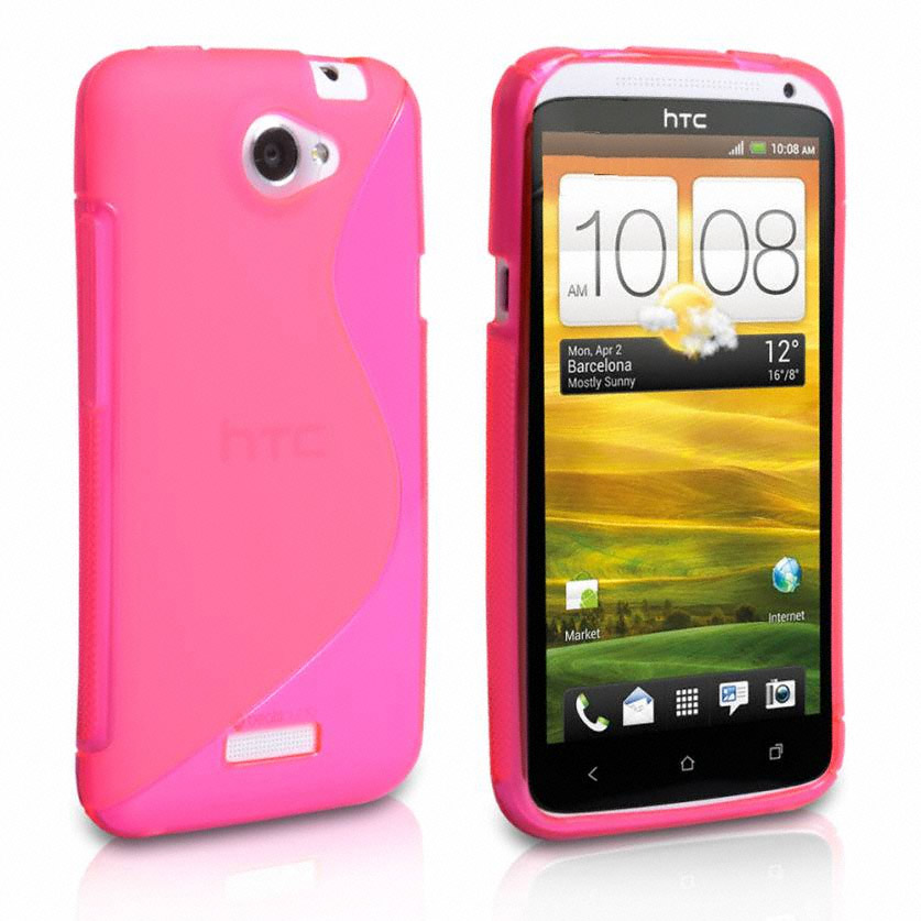 HTC One X ¨C Pink S-Wave