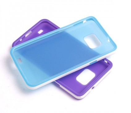 Hot Ultra-thin Transparent Frosted Solid Color Case Cover for Sa