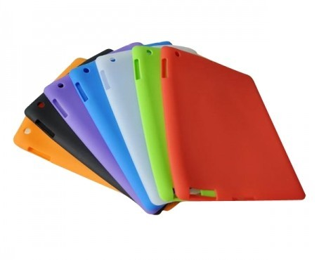 Case-Max Cheap Soft Silicone Case for Apple iPad 2 / the New iPa