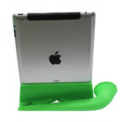 New Silicone Audio Speaker Stand Amplifier for iPad 2 / the New