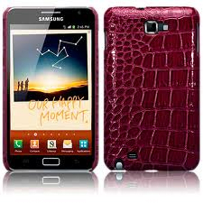 Samsung Galaxy Note ¨C Aubergine Crock Chick