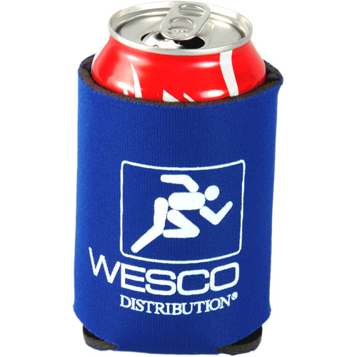 Custom budget collapsible foam can holder/koozie