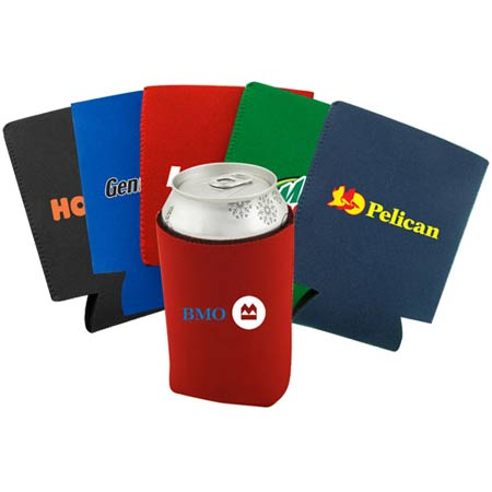 Collapsible Neoprene drink coozies/can holder