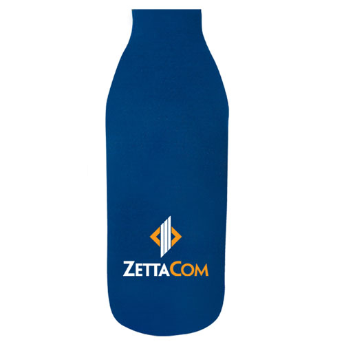 Neoprene wedding beer koozie/bottle sleeve