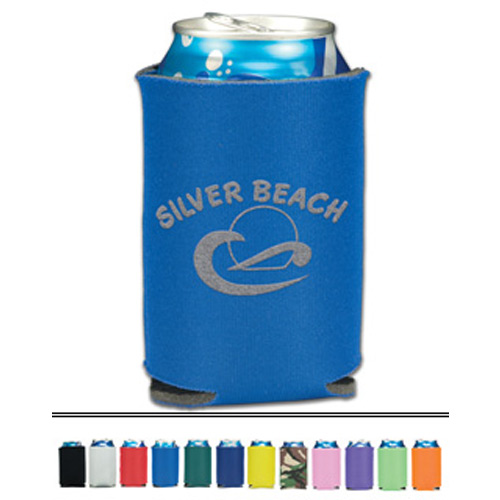 Folding custom promotional can cooler (1 sided imprint)