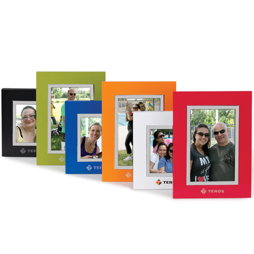 "4""x6"" colorful wood frame"