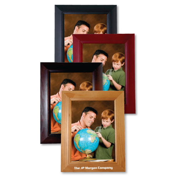 "5""x7"" Family wood picture frame"