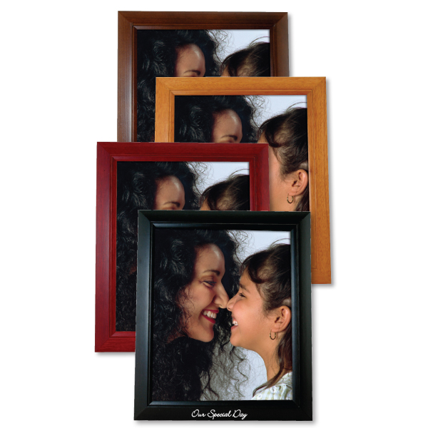 "8""x10"" x-large wood picture frame"