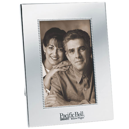 "4""x6"" silver plated photo frame"