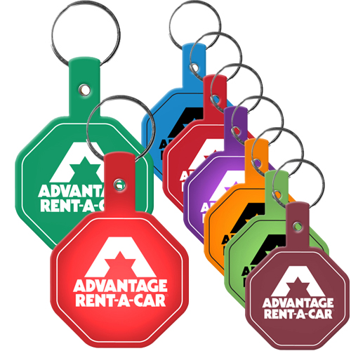 Promotional Flexible Key tag