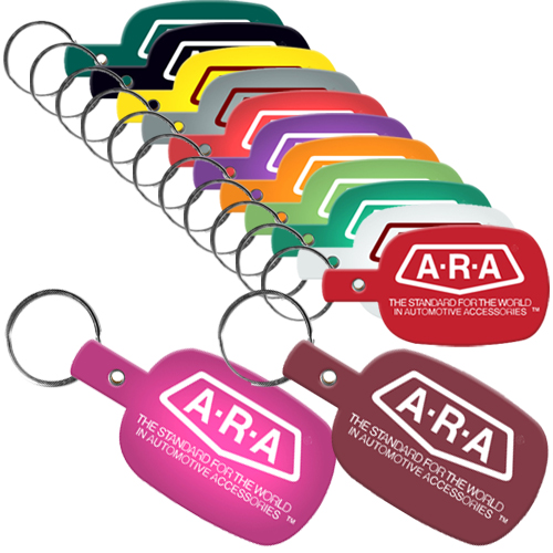 Personalized Flexible Key Tags