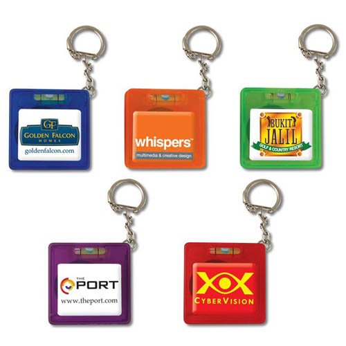 Promotiaonal plastic key holders