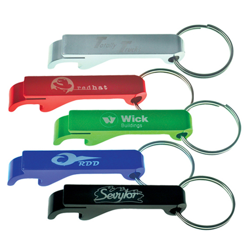 Promotional metal bottle opener key chains