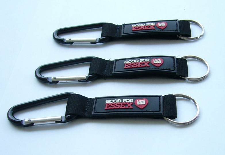 Nyon lanyard with metal 360 degree swivel lobster claw clip