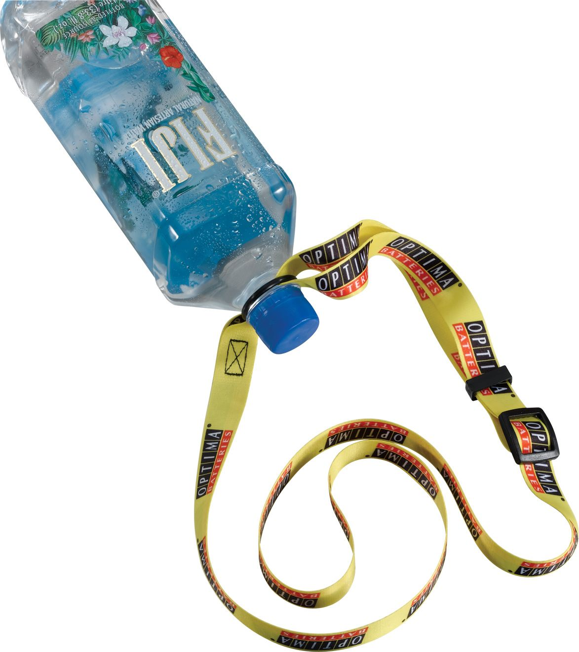 "3/4"" Adjustable dye sublimated water bottle strap"