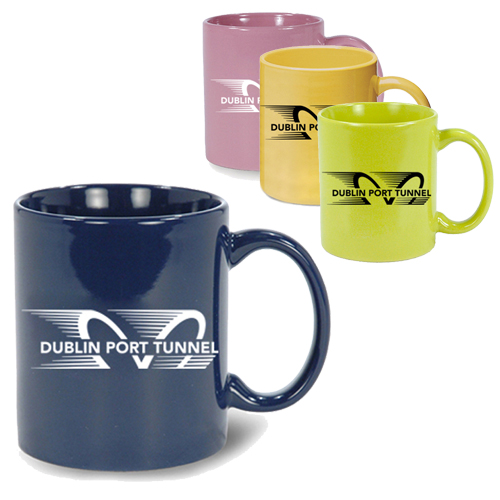 Ceramic cheap imprinted mugs