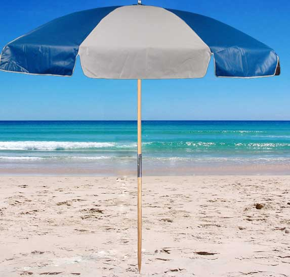 Printed patio umbrellas