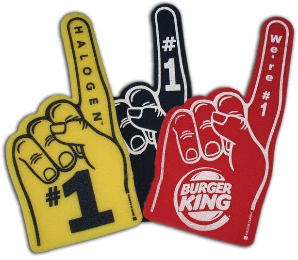 Custom Foam Finger / Hand