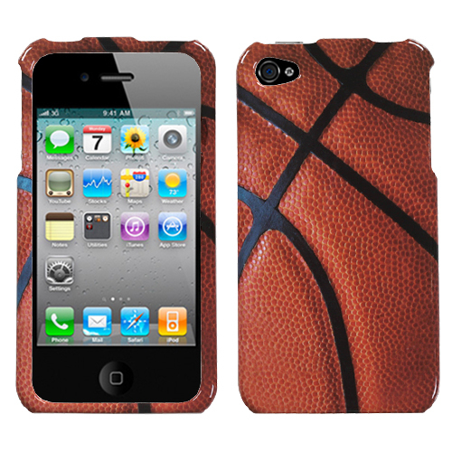 Basketball shaped iPhone 4S case