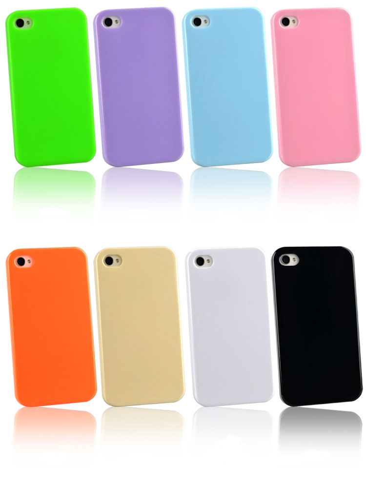 iPhone 4 Case: Silicone Cover