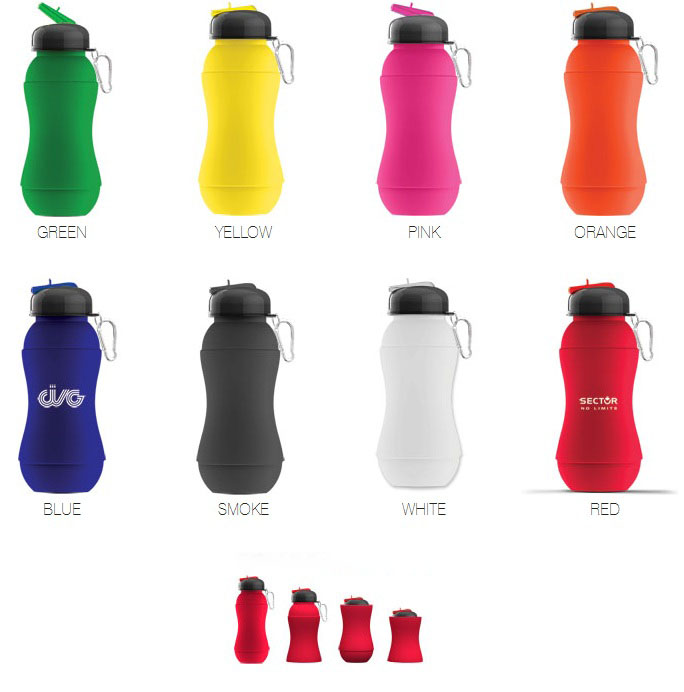 Sili-Squeeze Silicone Water Bottle
