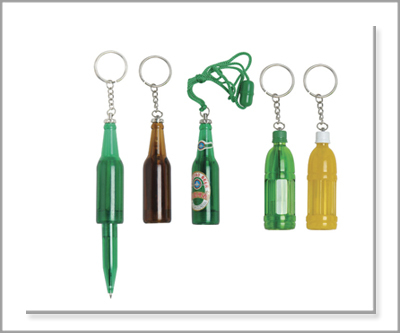 Bottle shape ball pen