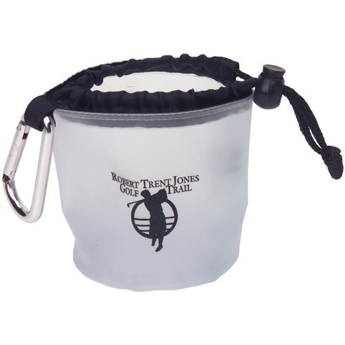 Drawstring Bag with Carabiner