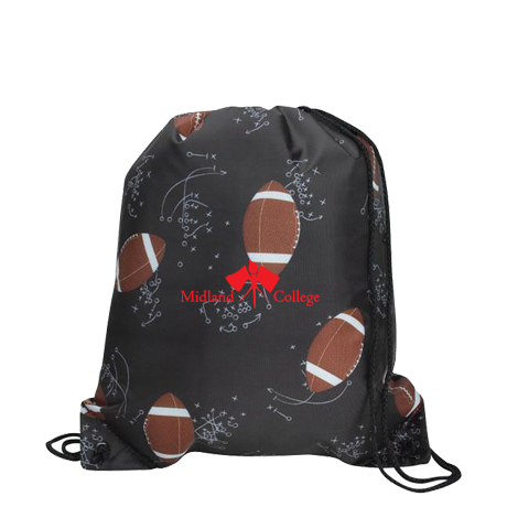 Sports League Drawcord Tote - Football