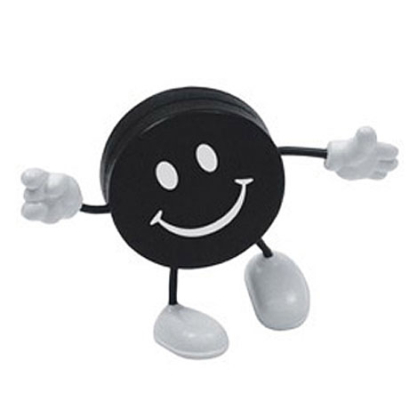 Hockey Puck Figure Stress Reliever