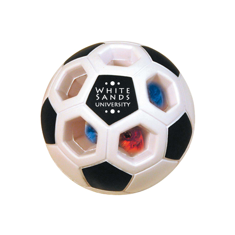 Light Up Soccer Ball Stress Reliever