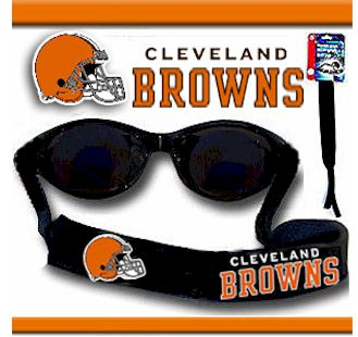 Cleveland Browns Strap for Sunglasses or Reading Glasses