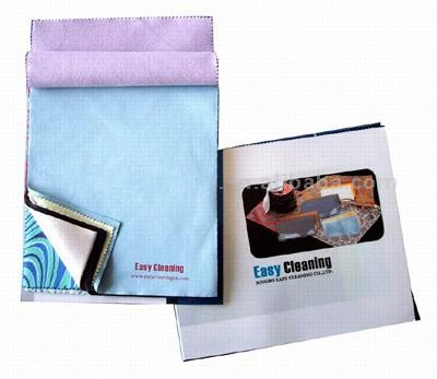 Microfiber glasses cleaning cloth