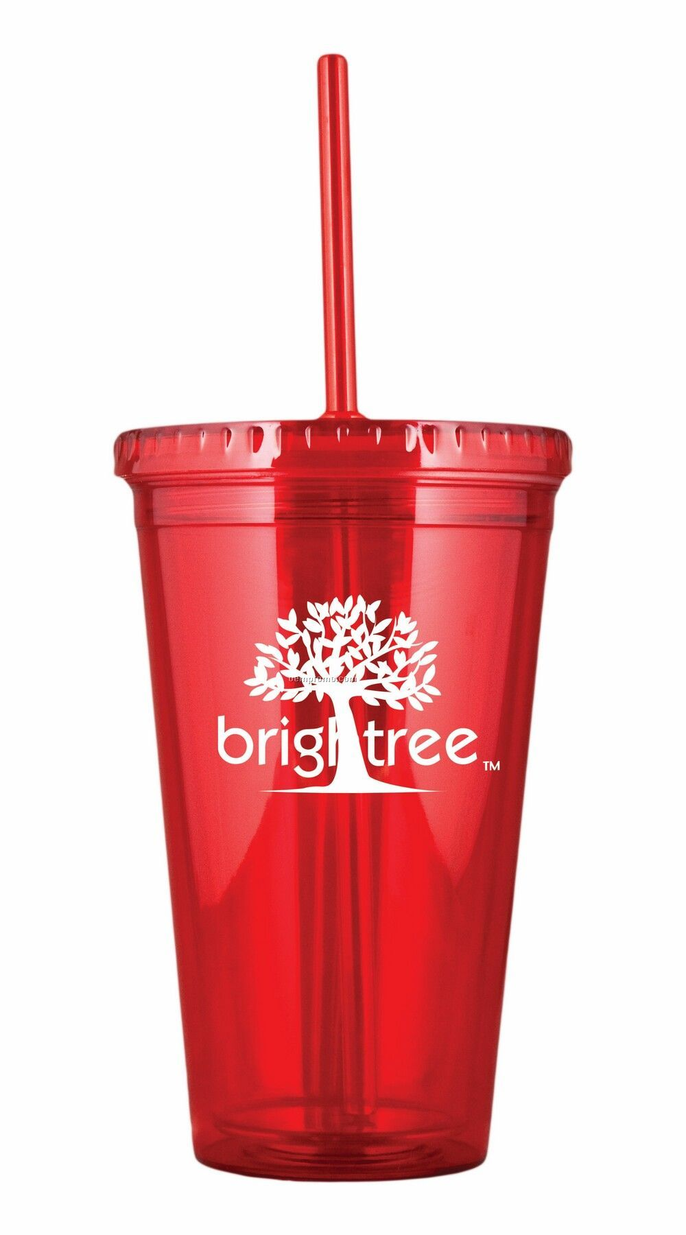 Double wall tumbler with custom logo