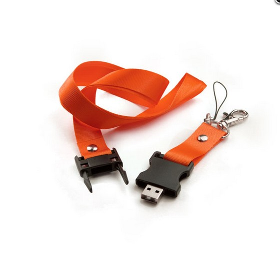Lanyard/Neck Strap for USB Flash Drives/Neckband Drive.