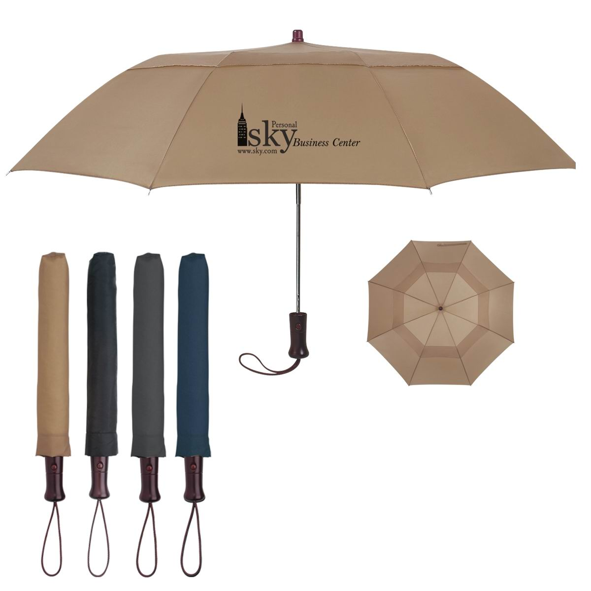 Scotland spring breeze folding umbrella